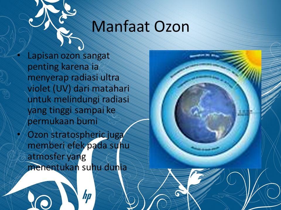 Manfaat Ozon