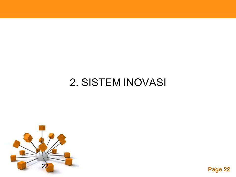 2. SISTEM INOVASI