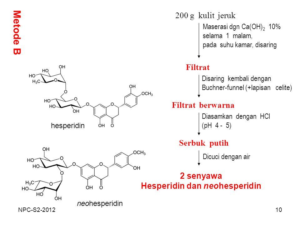 Hesperidin dan neohesperidin