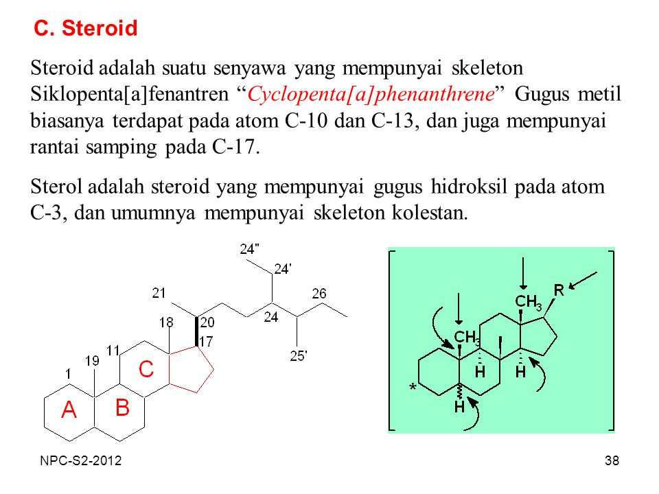 C. Steroid