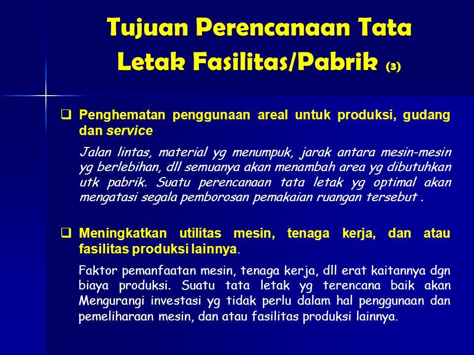 Tujuan Perencanaan Tata Letak Fasilitas/Pabrik (3)