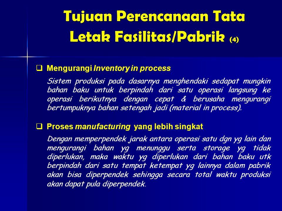 Tujuan Perencanaan Tata Letak Fasilitas/Pabrik (4)