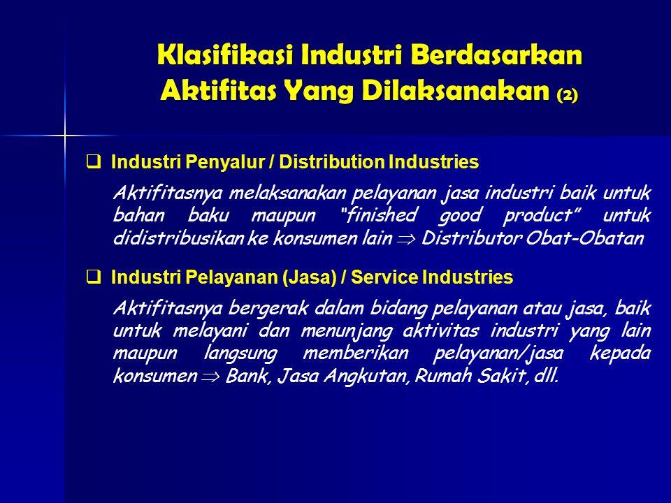 Klasifikasi Industri Berdasarkan Aktifitas Yang Dilaksanakan (2)