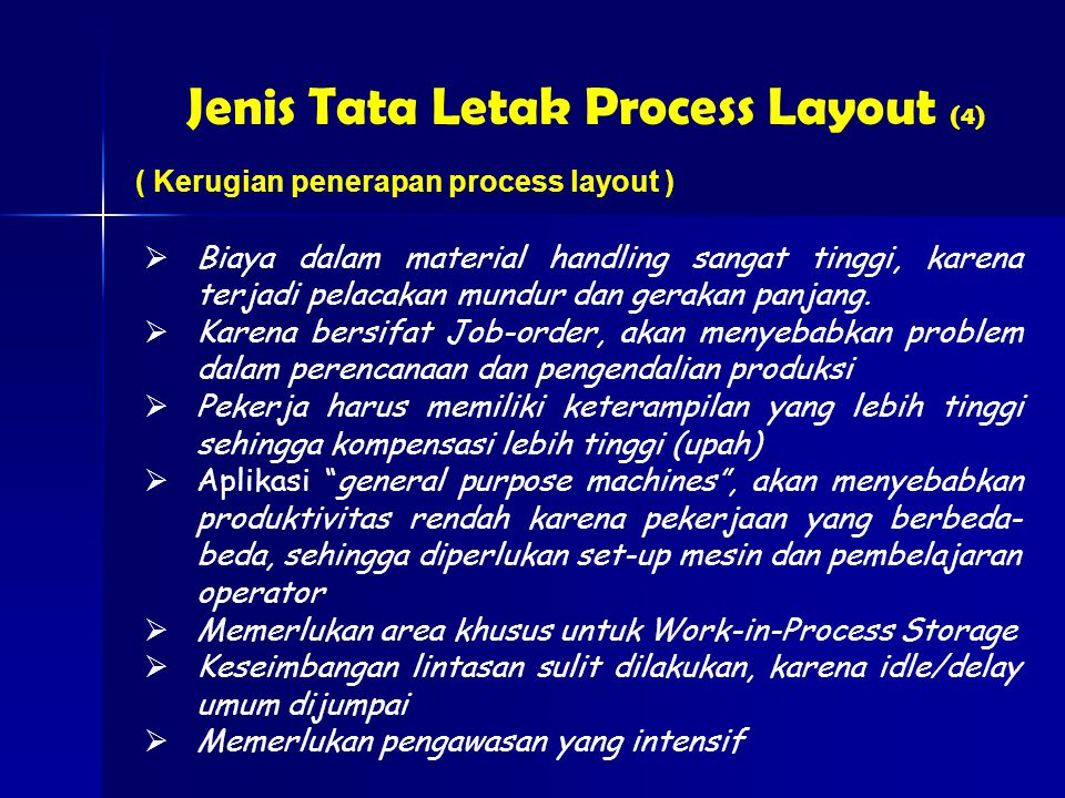 Jenis Tata Letak Process Layout (4)