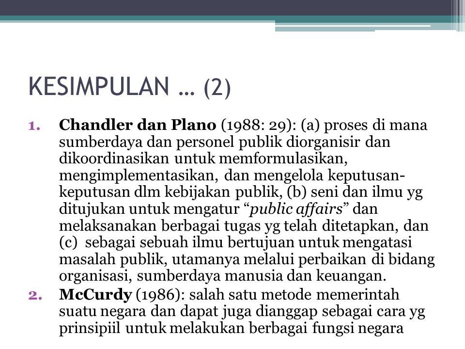 KESIMPULAN … (2)