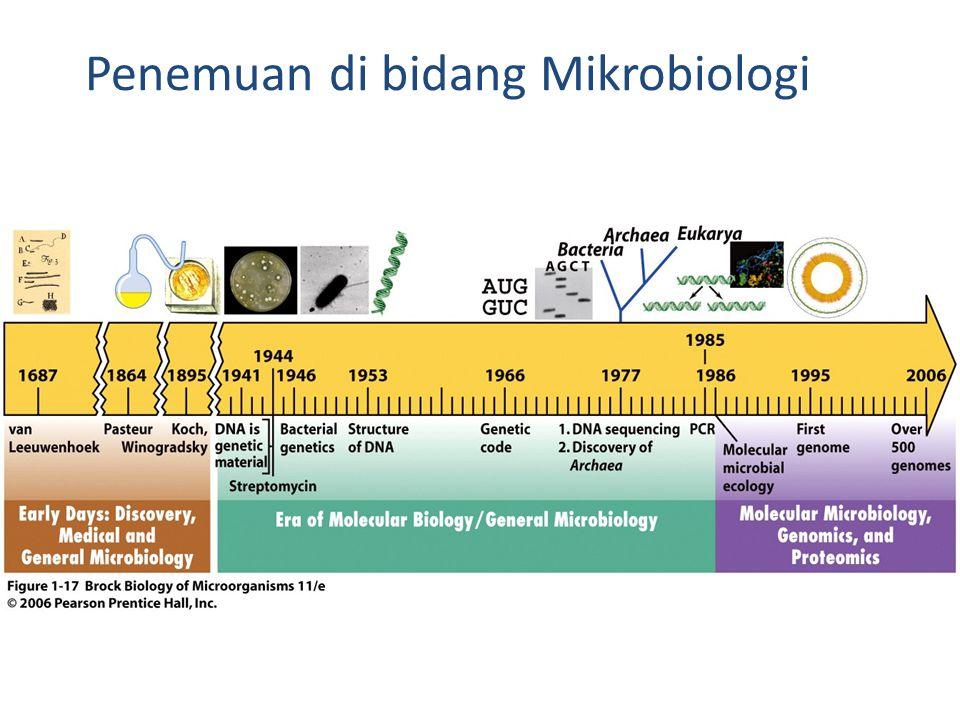 Penemuan di bidang Mikrobiologi