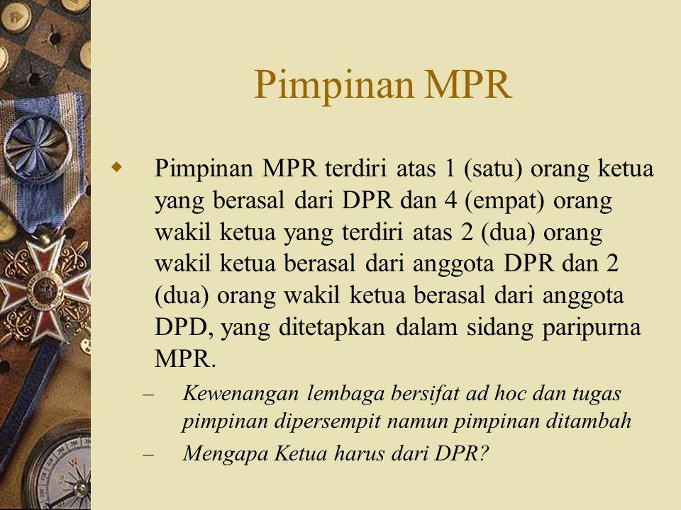Pimpinan MPR
