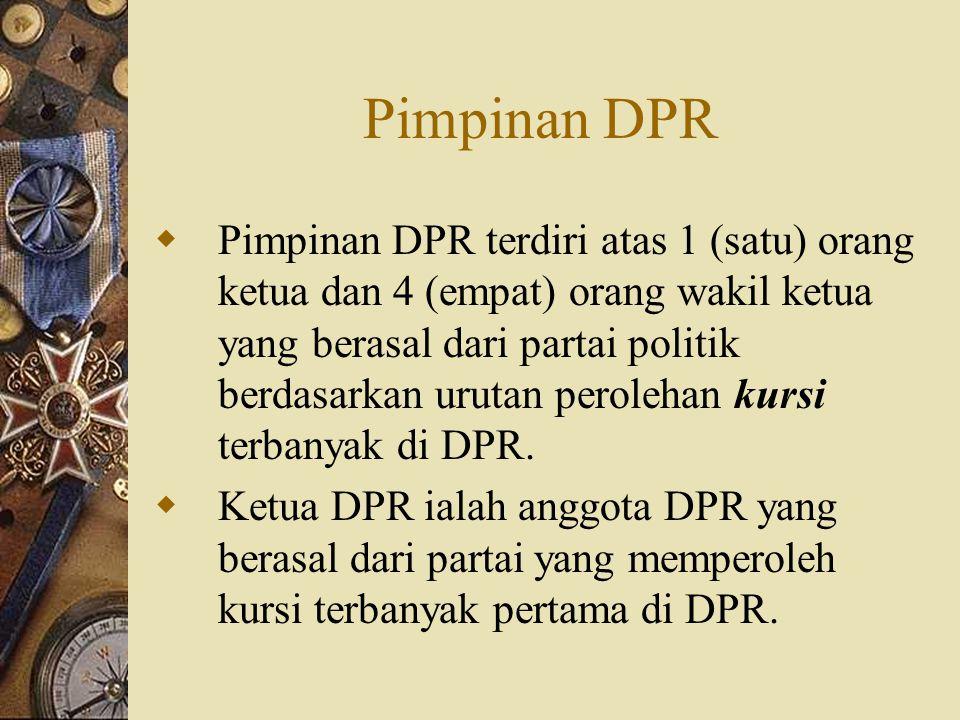 Pimpinan DPR