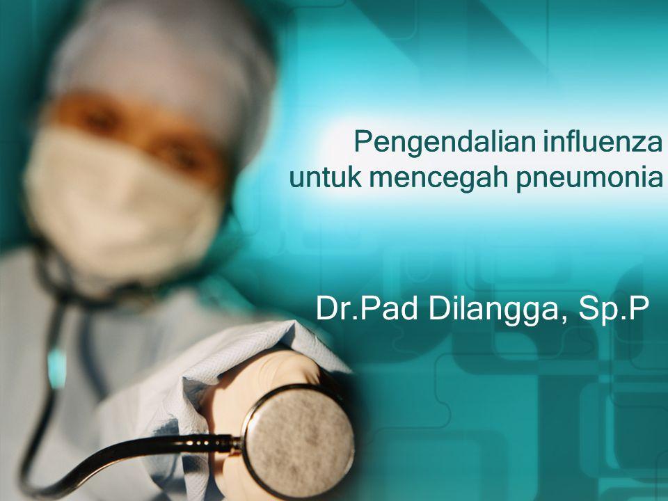 Pengendalian influenza untuk mencegah pneumonia