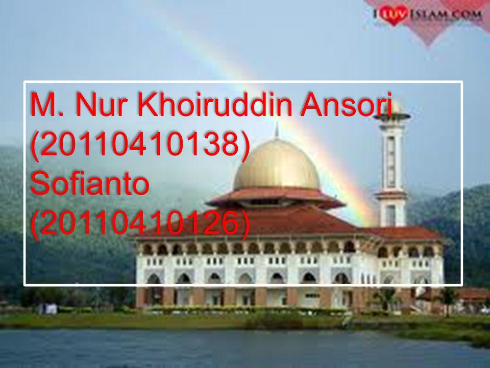 M. Nur Khoiruddin Ansori (20110410138)