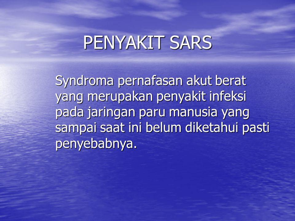 PENYAKIT SARS