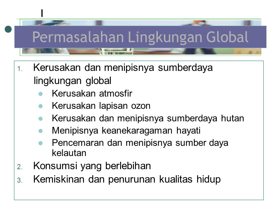 Permasalahan Lingkungan Global