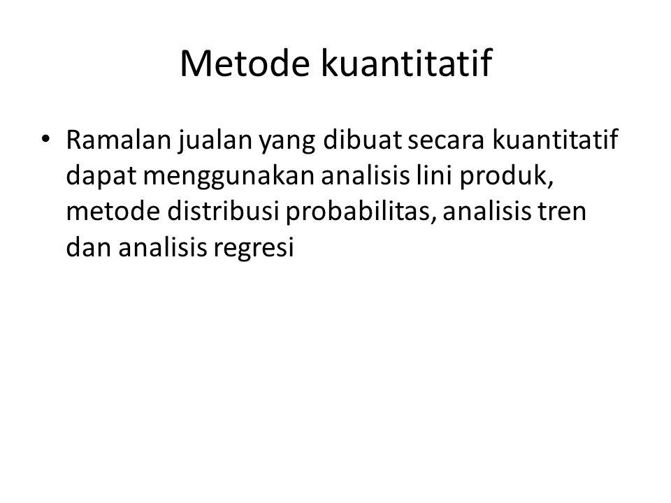 Metode kuantitatif