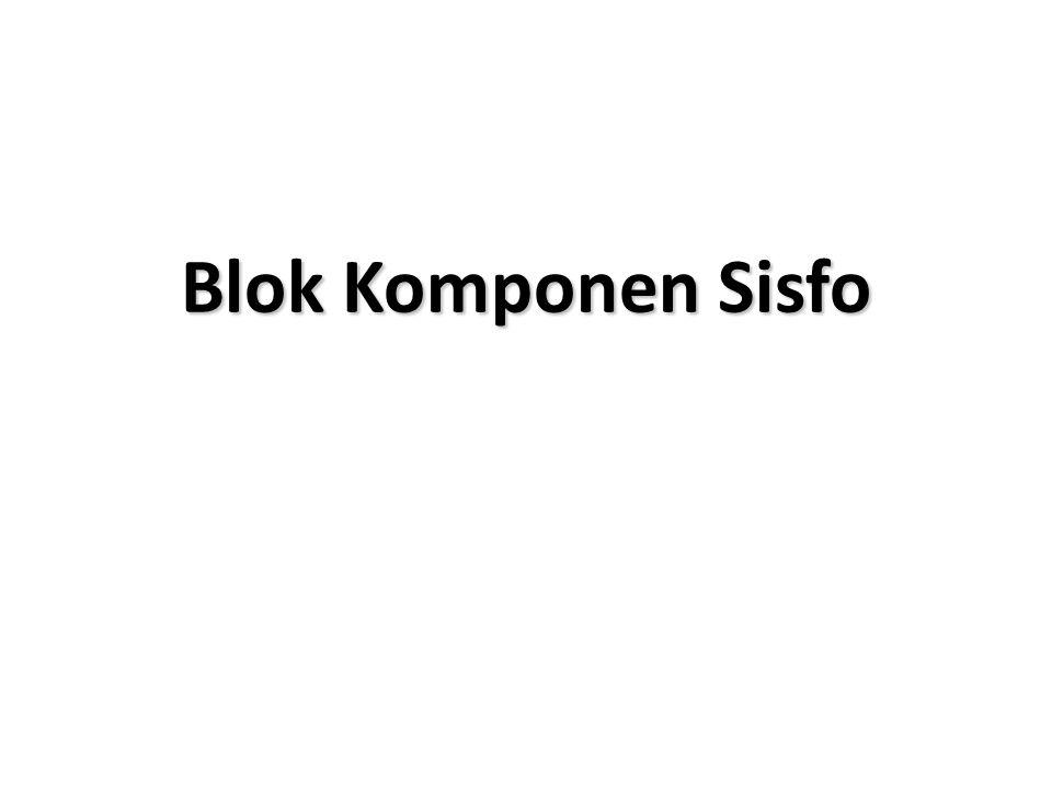 Blok Komponen Sisfo