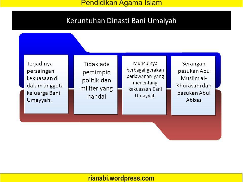 Keruntuhan Dinasti Bani Umaiyah