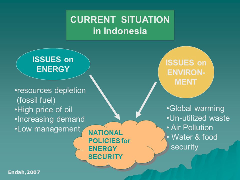 CURRENT SITUATION in Indonesia