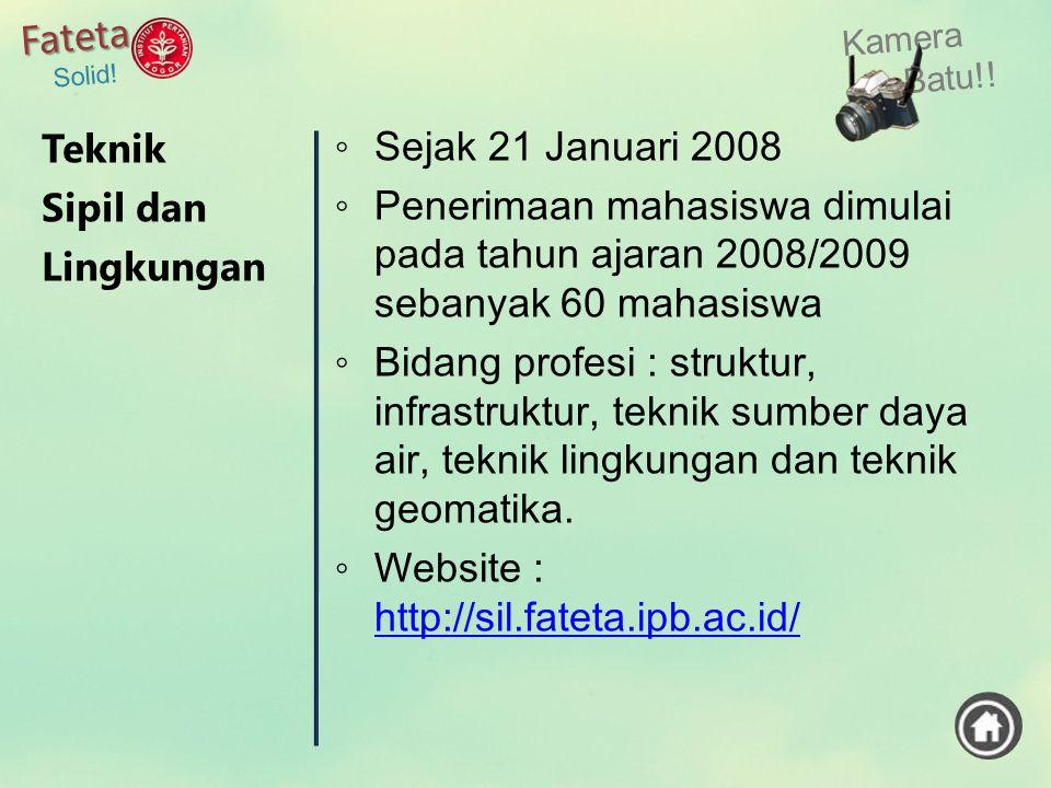 Website : http://sil.fateta.ipb.ac.id/