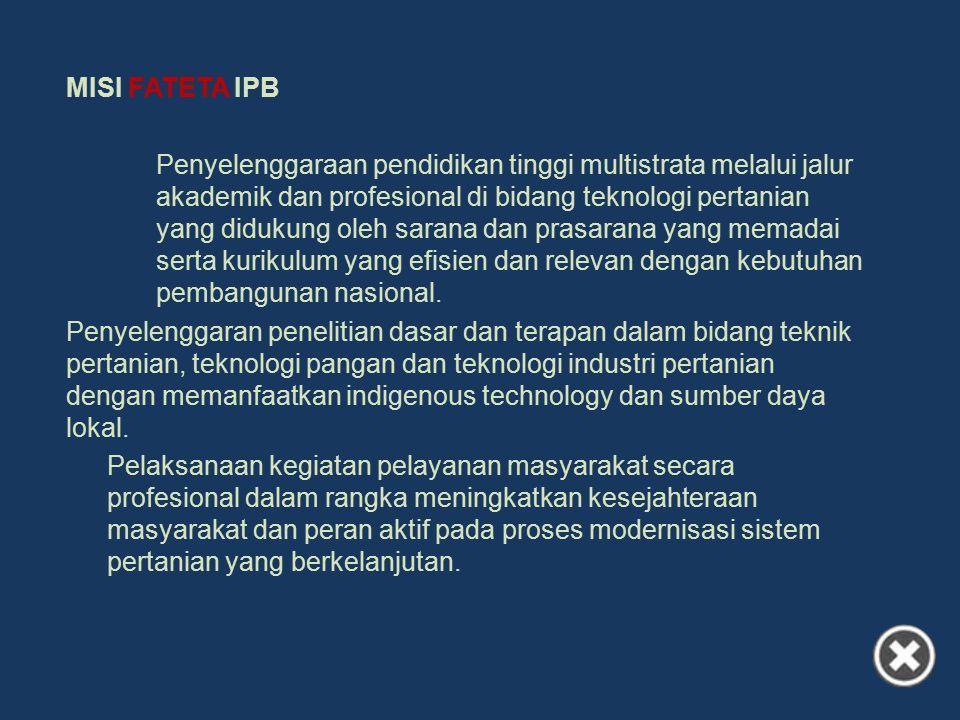 MISI FATETA IPB.