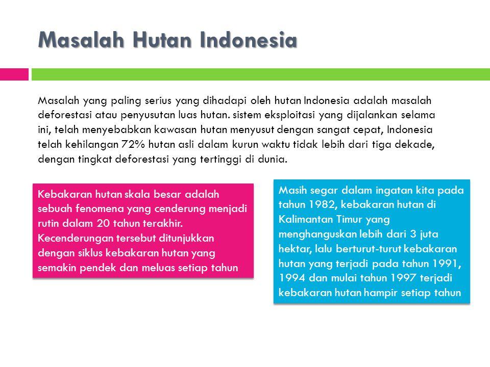 Masalah Hutan Indonesia