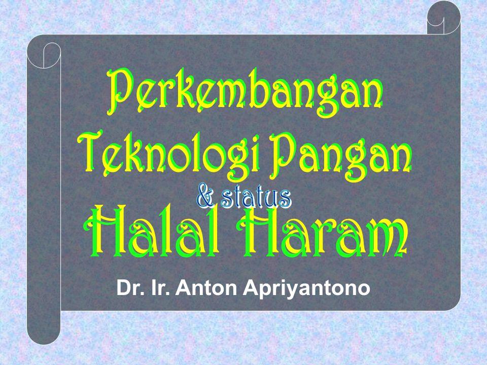 Dr. Ir. Anton Apriyantono