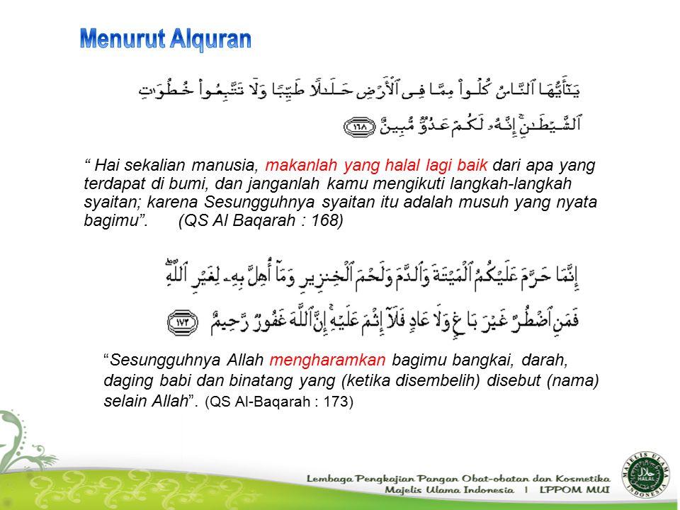 Menurut Alquran
