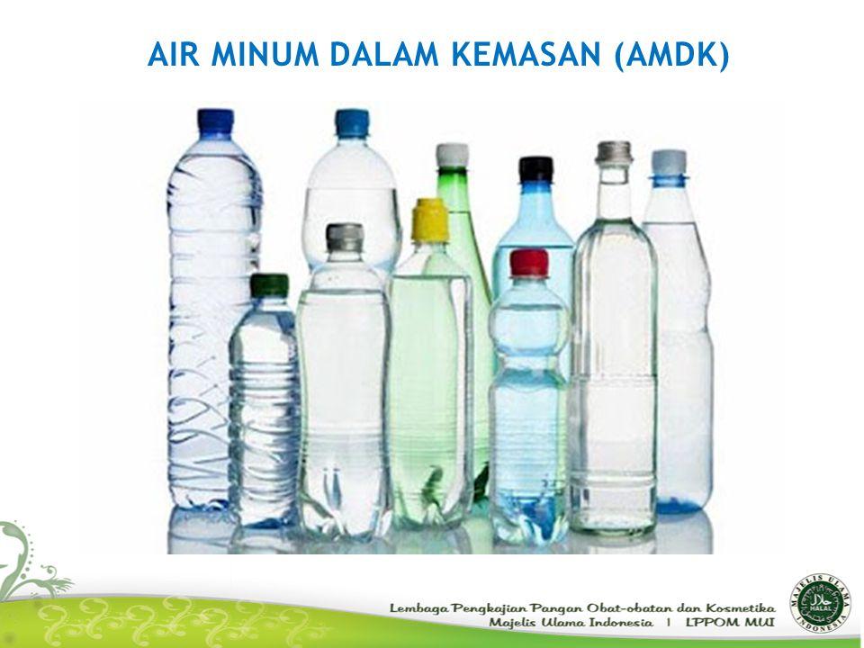 AIR MINUM DALAM KEMASAN (AMDK)