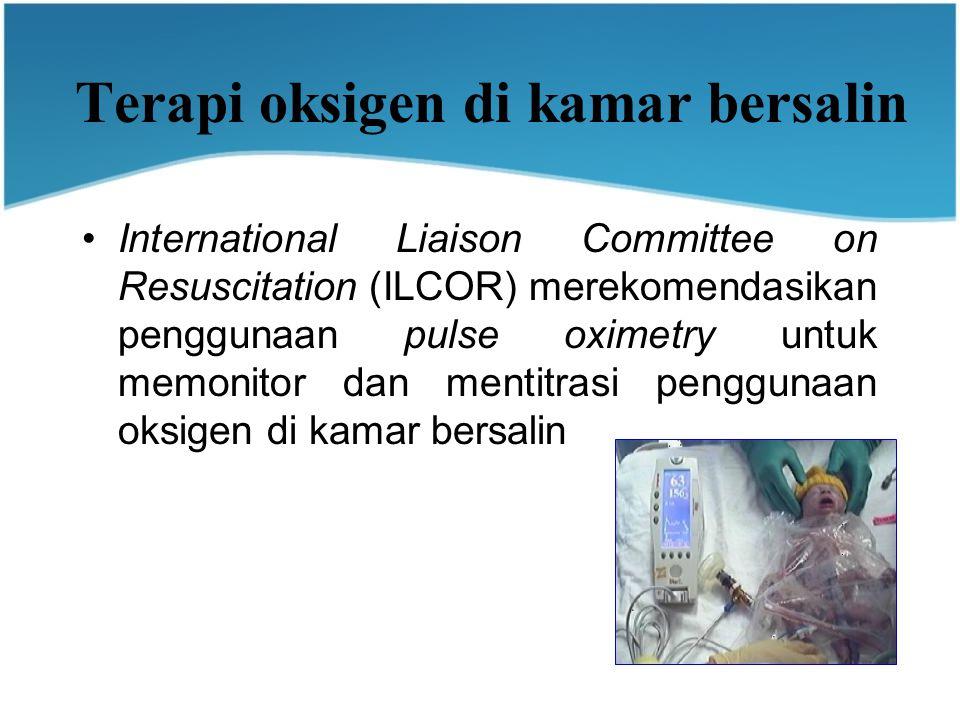 Terapi oksigen di kamar bersalin