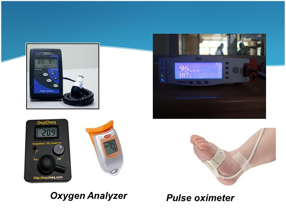 Oxygen Analyzer Pulse oximeter
