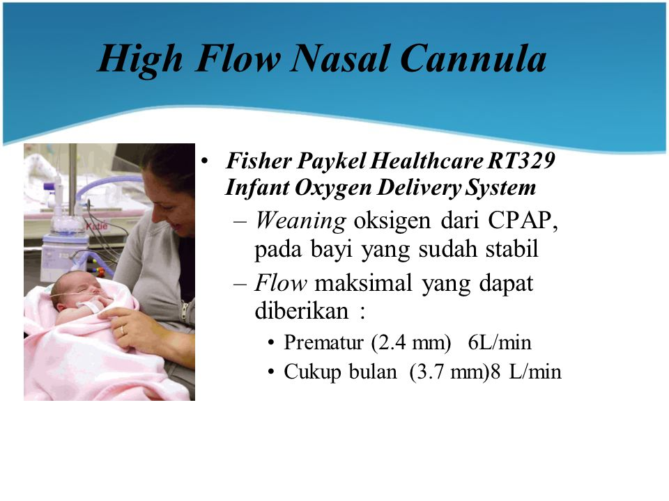 High Flow Nasal Cannula