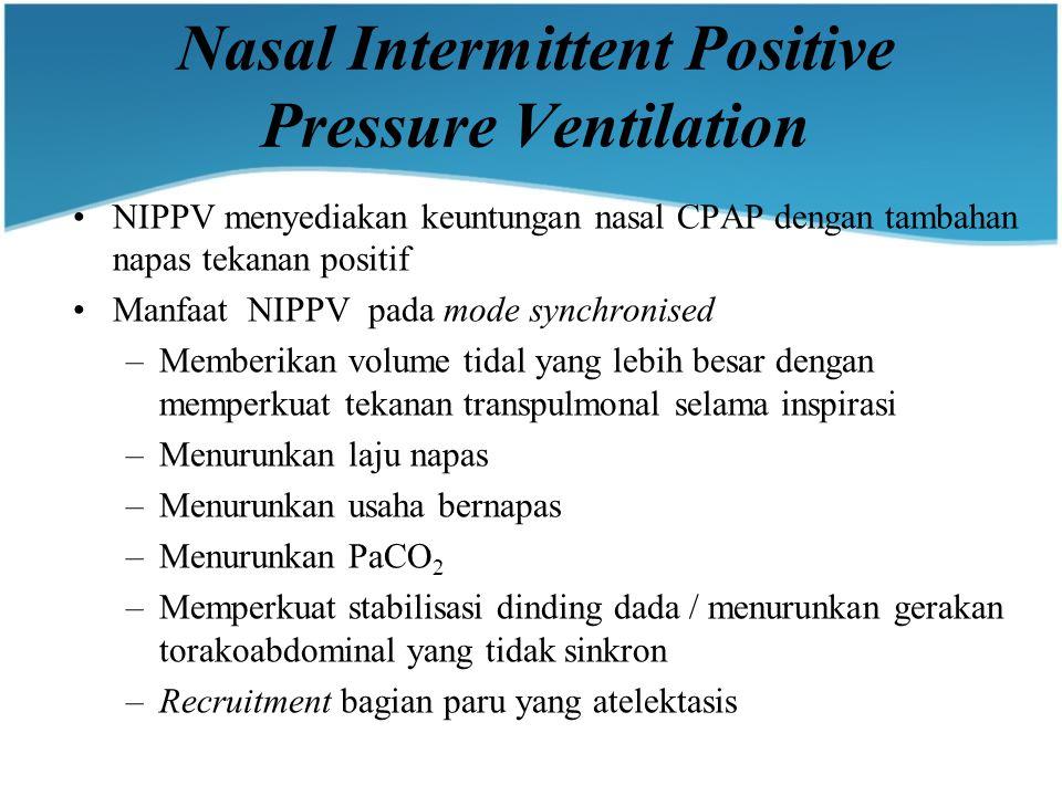 Nasal Intermittent Positive Pressure Ventilation