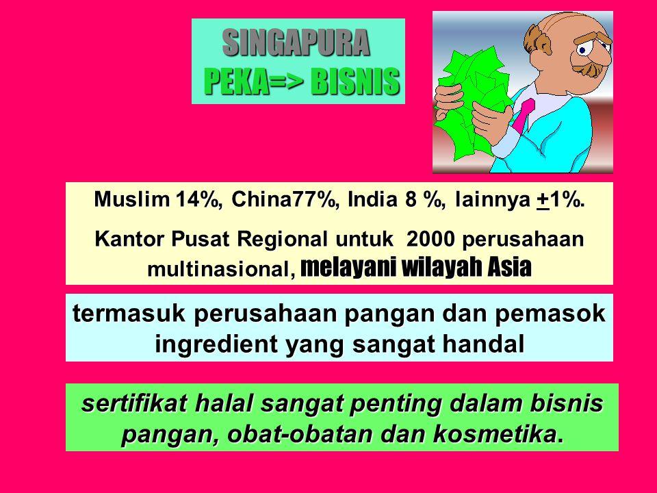 SINGAPURA PEKA=> BISNIS