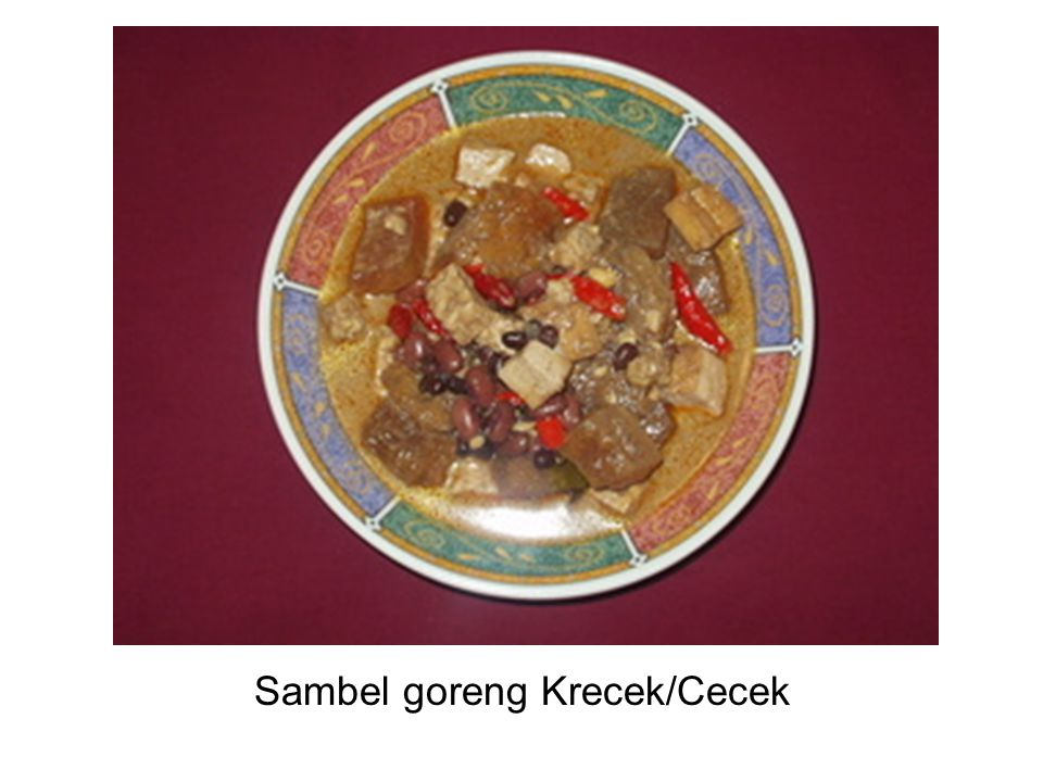 Sambel goreng Krecek/Cecek