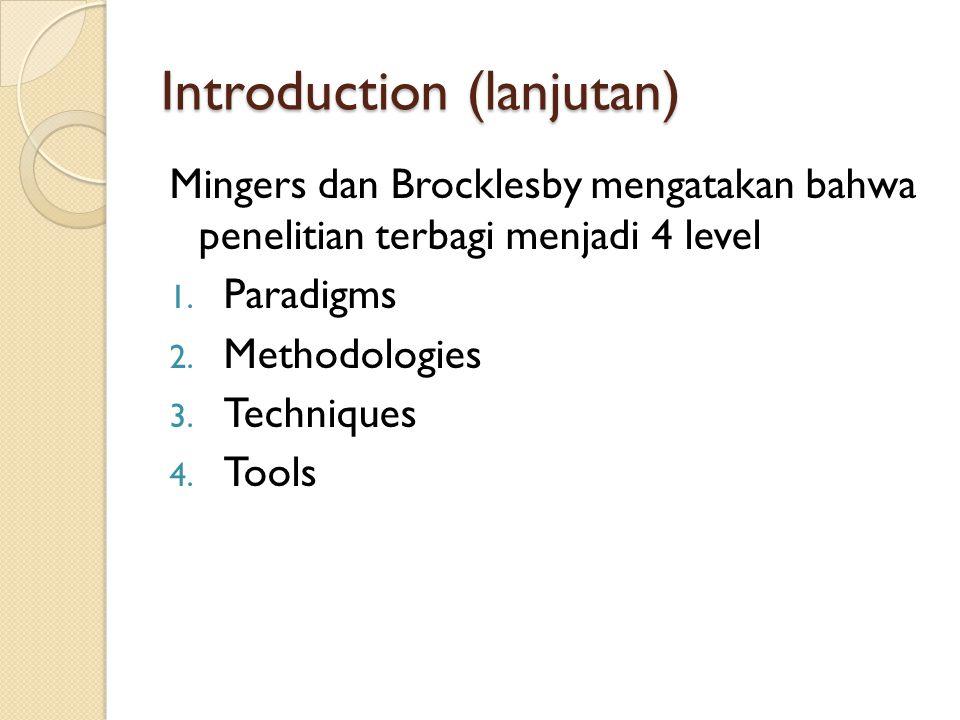 Introduction (lanjutan)