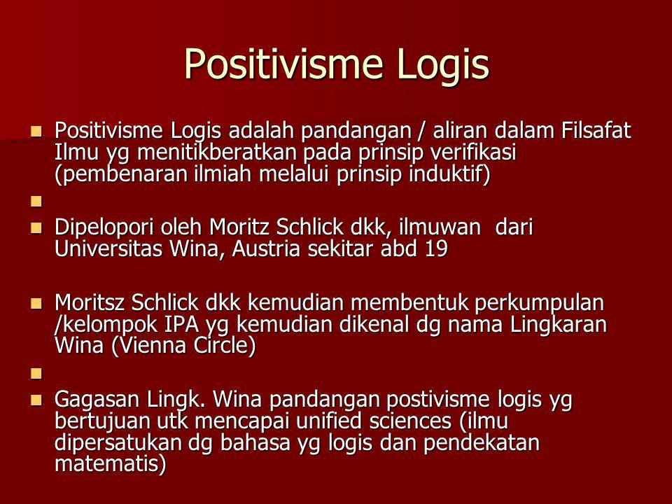 Positivisme Logis