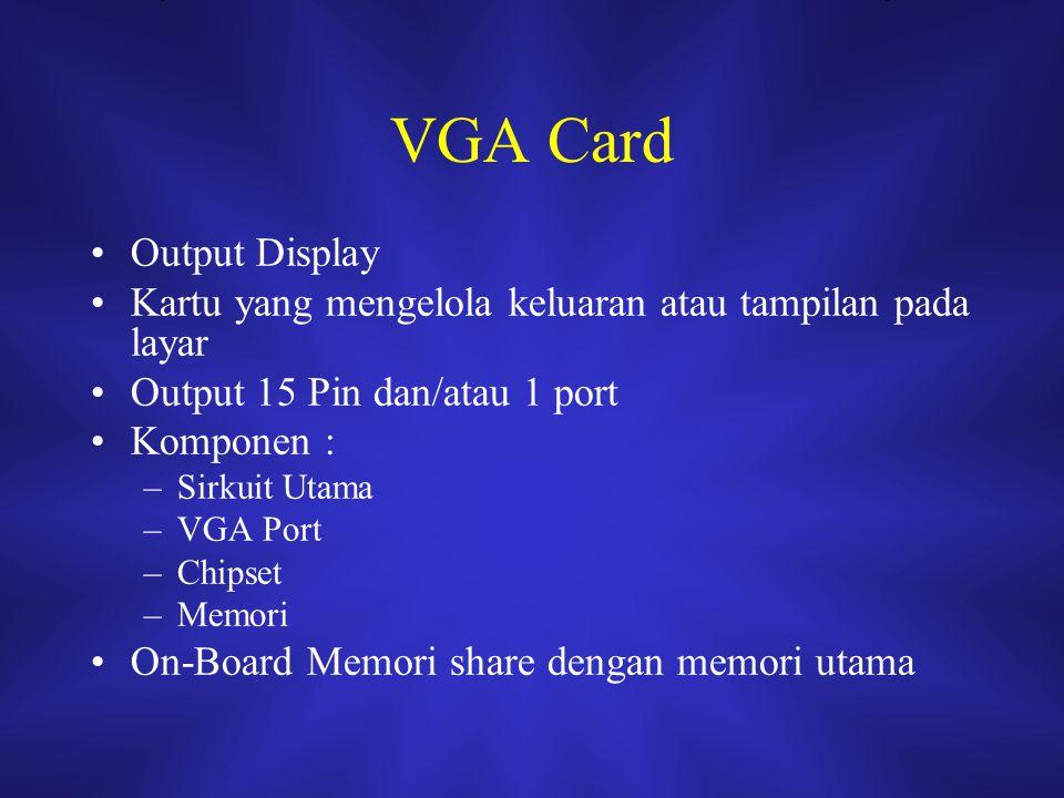 VGA Card Output Display