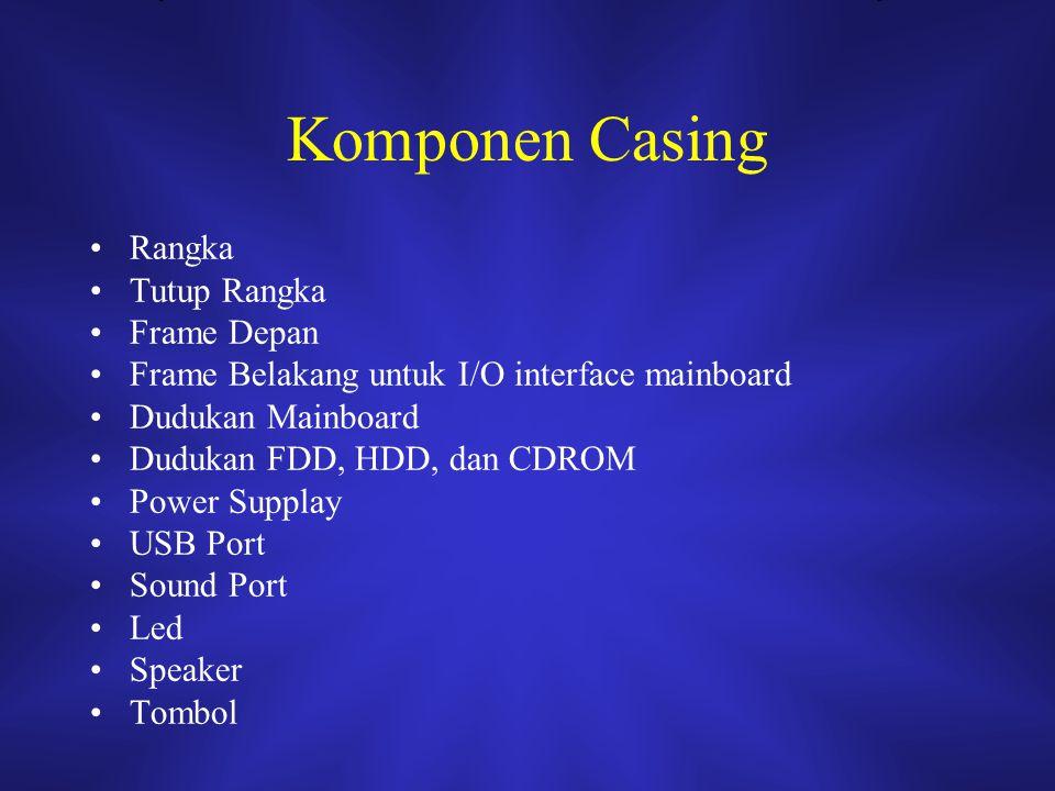Komponen Casing Rangka Tutup Rangka Frame Depan