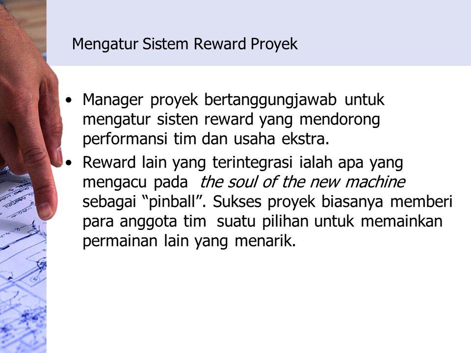 Mengatur Sistem Reward Proyek