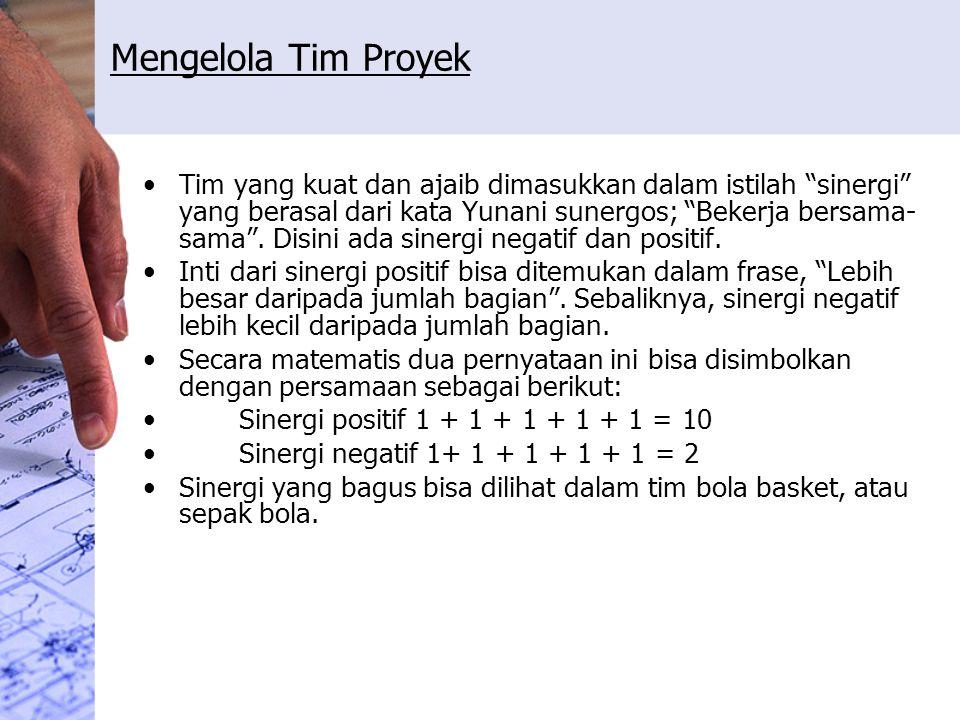 Mengelola Tim Proyek