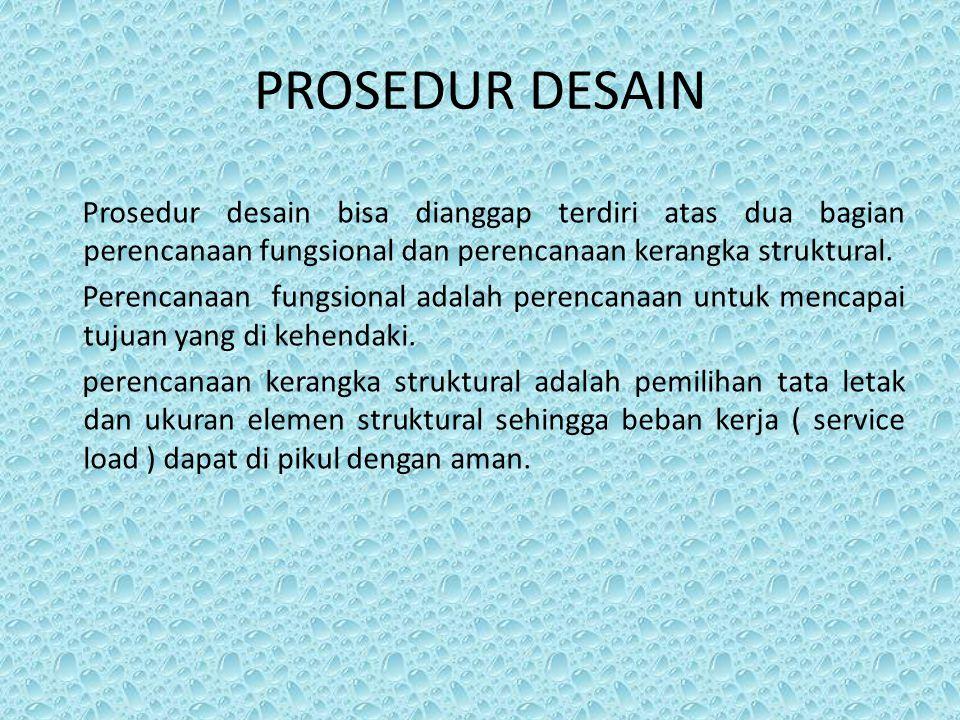 PROSEDUR DESAIN