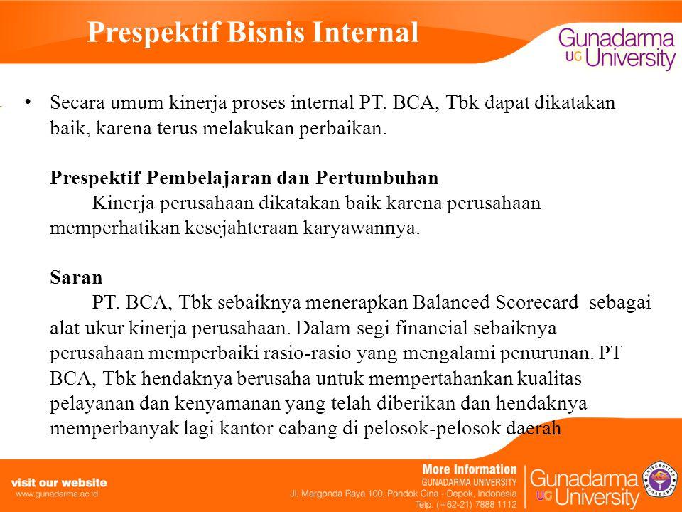 Prespektif Bisnis Internal