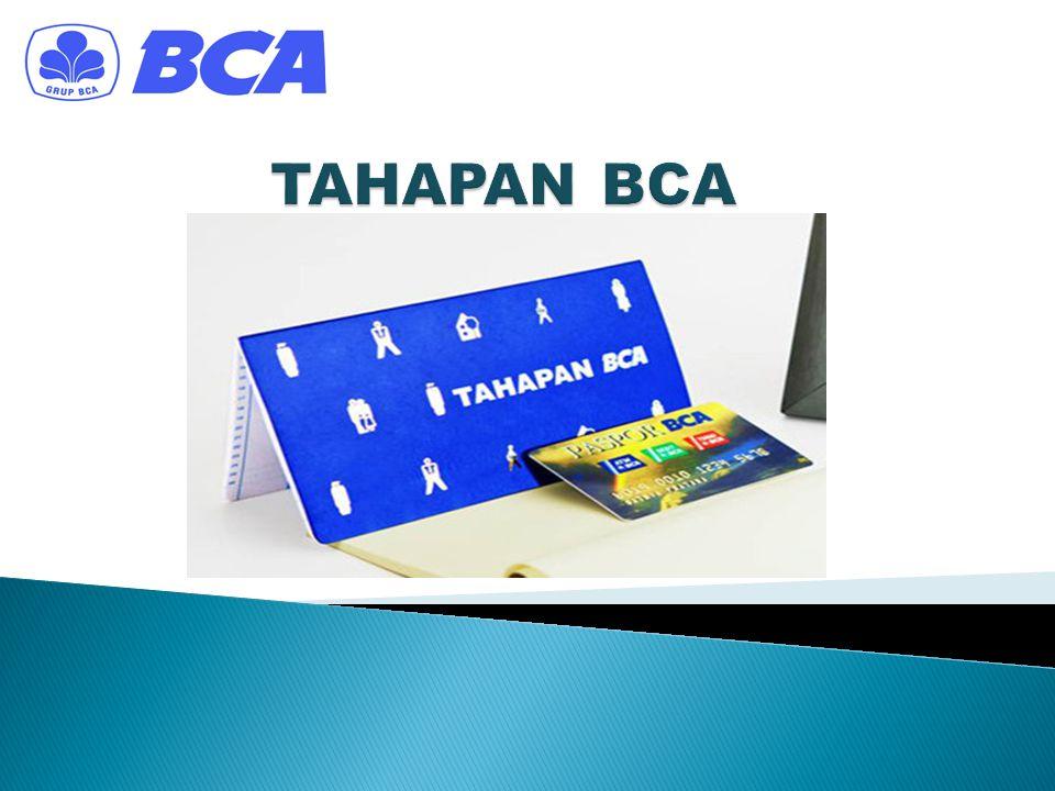 TAHAPAN BCA