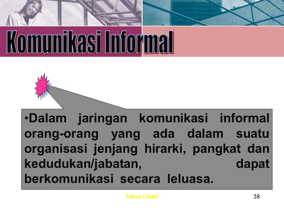Komunikasi Informal