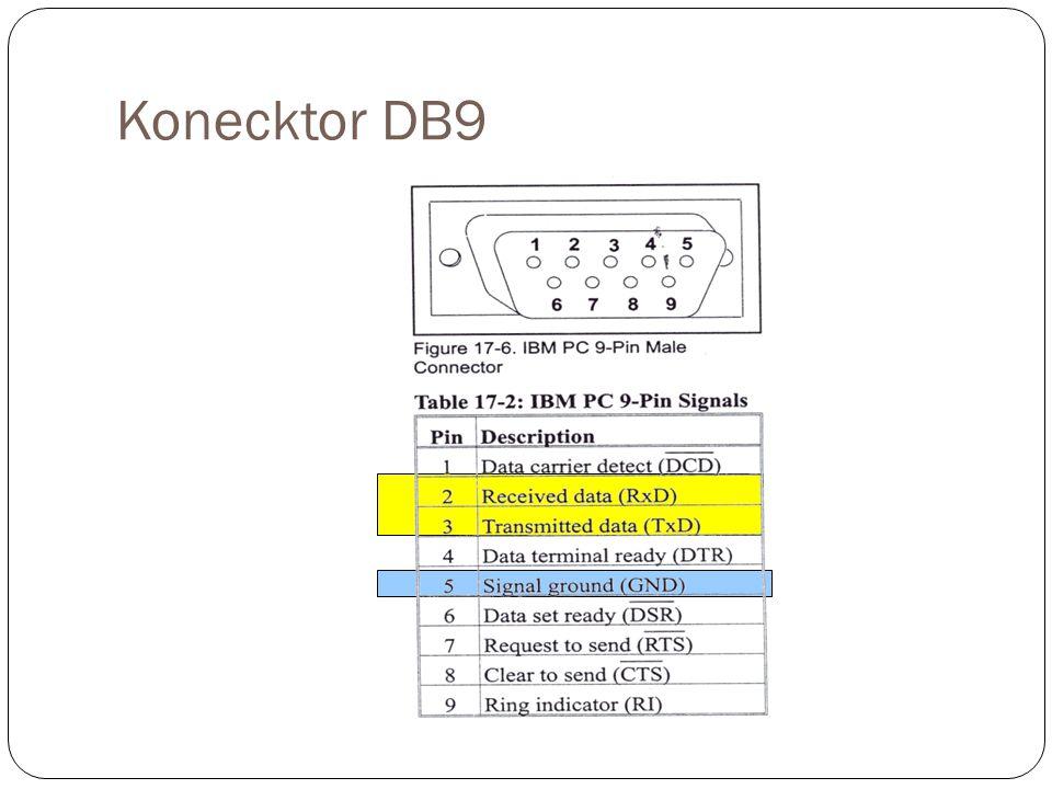Konecktor DB9