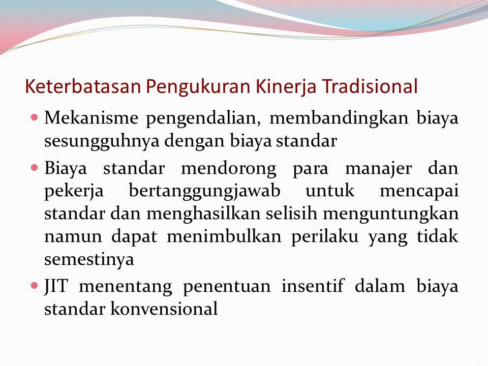 Keterbatasan Pengukuran Kinerja Tradisional