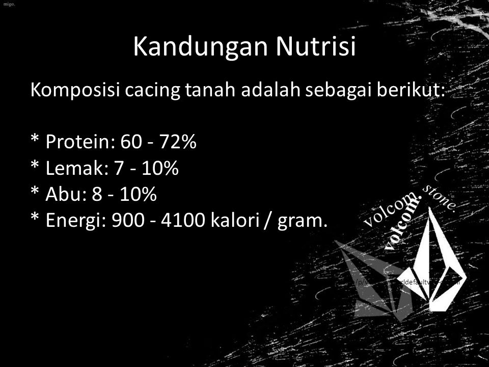 Kandungan Nutrisi