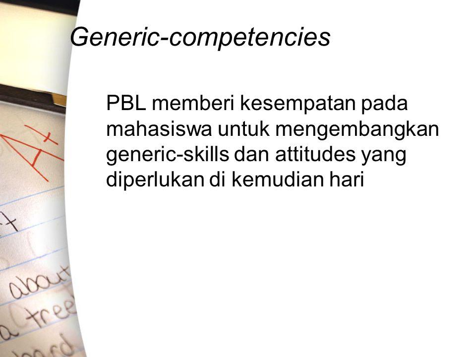 Generic-competencies