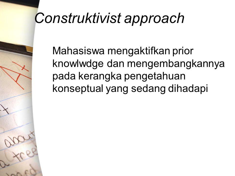 Construktivist approach