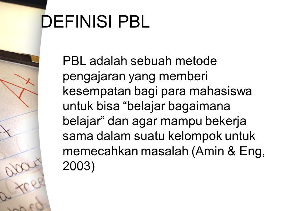 DEFINISI PBL