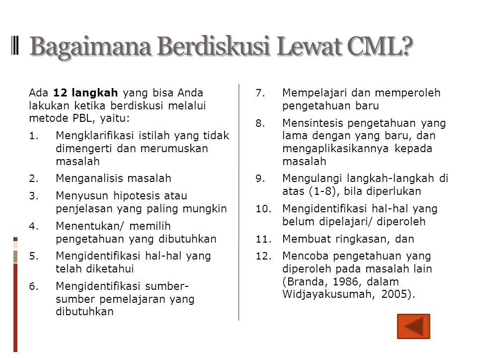 Bagaimana Berdiskusi Lewat CML