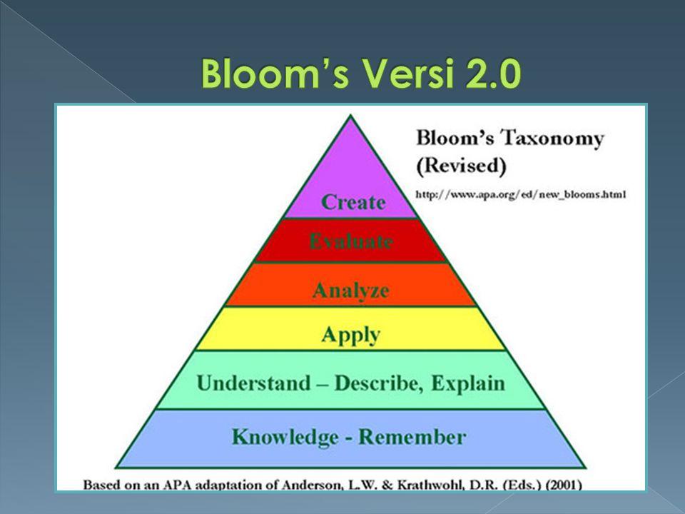 Bloom's Versi 2.0